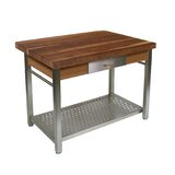 Cucina Grande Kitchen Island with Solid Wood Top by John Boos