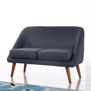 Shop Spratt Modern Style Loveseat by Langley Street