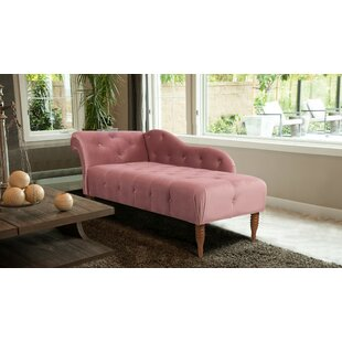 Bill Tufted Chaise Lounge by Willa Arlo Interiors