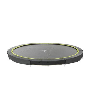Silhouette Ground Round Trampoline By Exit Toys
