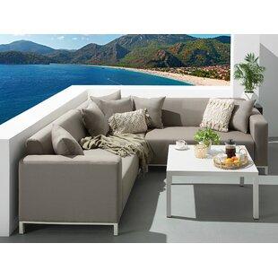Ibtissem 5 Seater Corner Sofa Set By Sol 72 Outdoor