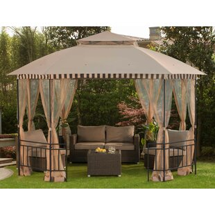 Meijer 12Ft. W X 10 Ft. D Steel Patio Gazebo