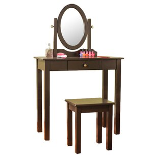 Vanity Set with Mirror by TMS