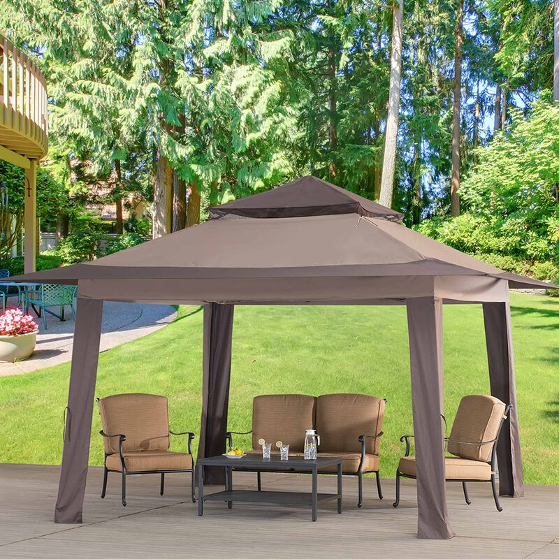 Replacement Big Canopy and Small Canopy for 13' W x 13' D Pop Up - Sunjoy Replacement Big Canopy And Small Canopy For 13' W X 13' D Pop