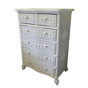 Yesteryear Wicker Classic 5 Drawer Dresser