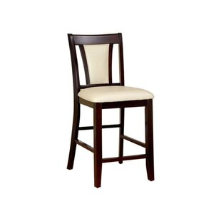 Brucelyn Wooden Upholstered Dining Chair (Set of 2) World Menagerie