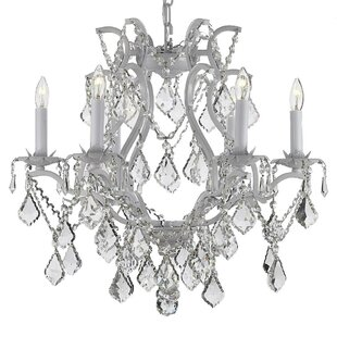 Lazaro 6-Light Candle Style Chandelier by Rosdorf Park
