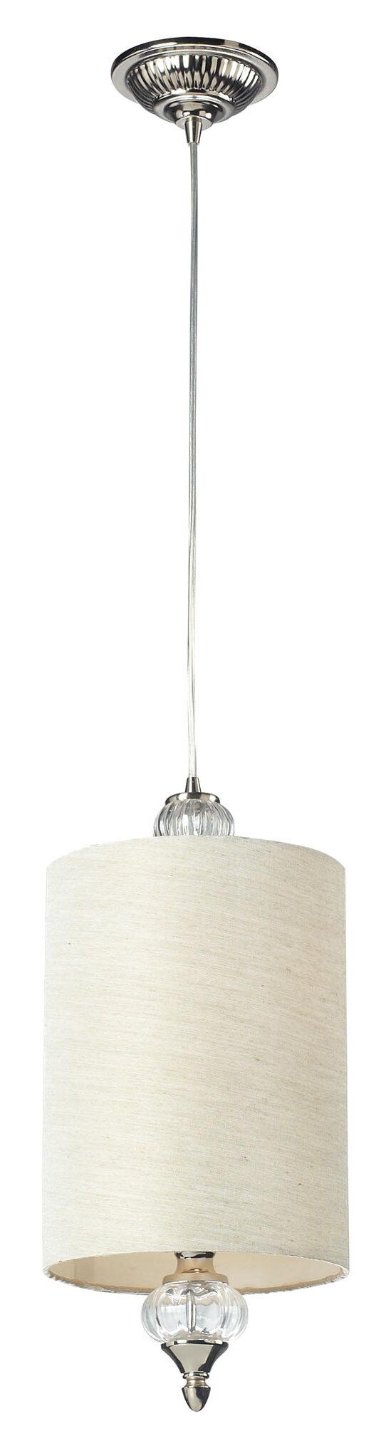One Allium Way Sewell 1 Light Single Cylinder Pendant Wayfair