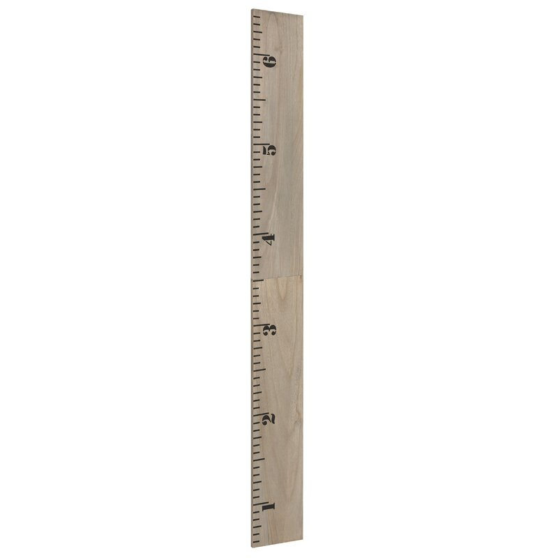 Harriet Bee Valleywood 65 Wood Wall Ruler Growth Chart Reviews