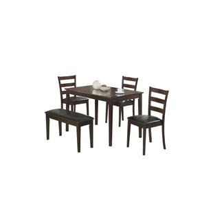 Yeung Ximena 5 Piece Dining Set