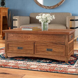 Barrett Coffee Table with Lift Top Loon Peak
