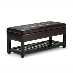 Simpli Home Cosmopolitan Storage Bench