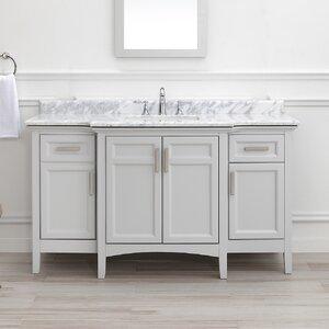 Benedetto 60 Double Bathroom Vanity Set