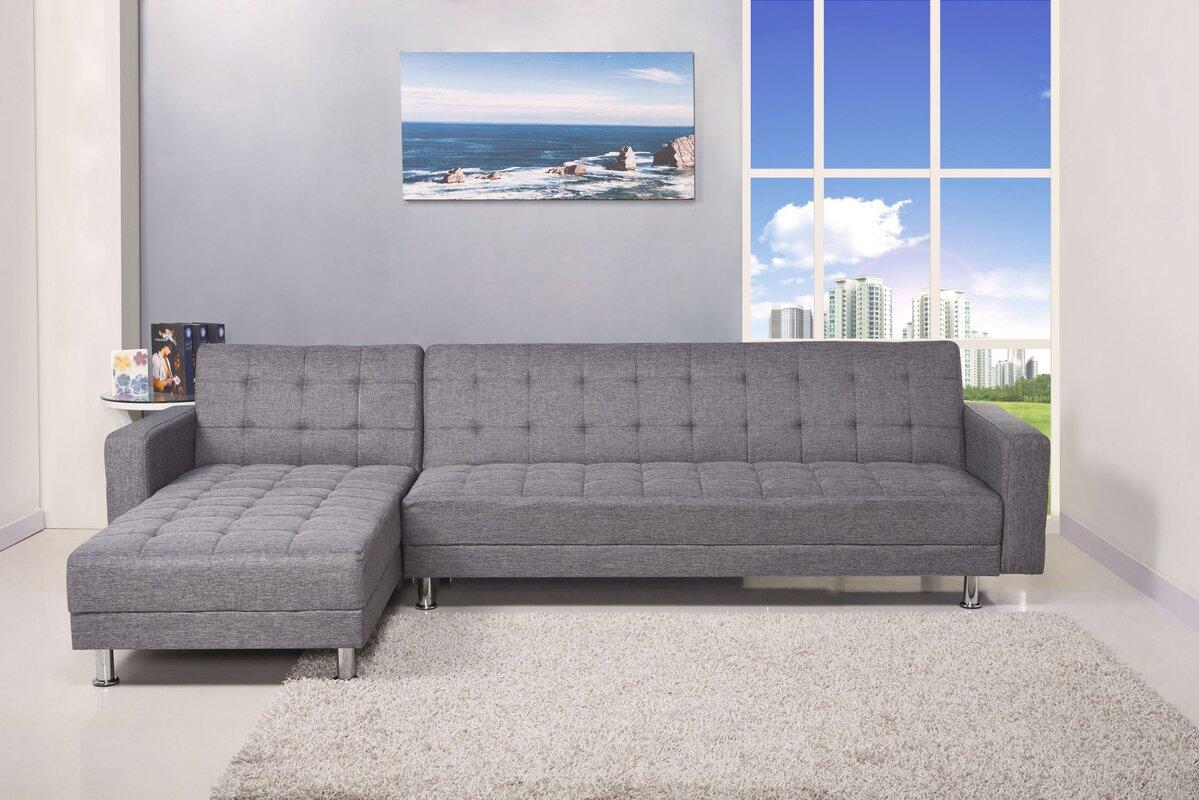 100 sectional with sofa sleeper zara sectional sofa 3 in 1