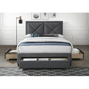 Nihal Upholstered Bed Frame By Ebern Designs