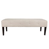 Hitchens Upholstered Bench by Alcott Hill®