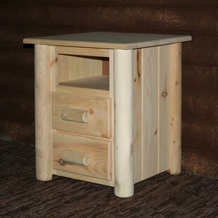 Millwood Pines Timothy 2 Drawer Nightstand