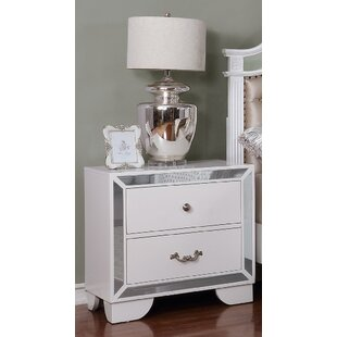 Rosdorf Park Bilboro 2 Drawer Nightstand