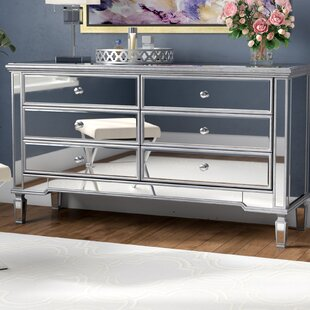 Rosdorf Park Emerita 6 Drawer Double Dresser