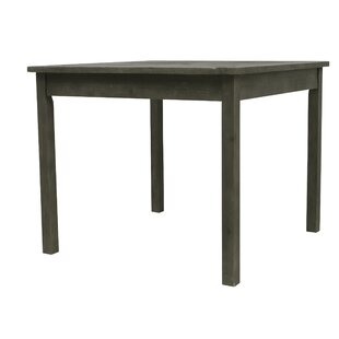 Densmore Patio Wooden Dining Table