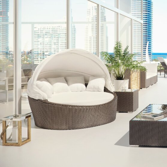 Captivating Outdoor Daybed With Cushion