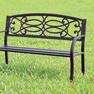 Boyd Steel Garden Bench by..
