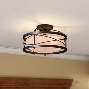 Farrier 2 Light Semi Flush Mount