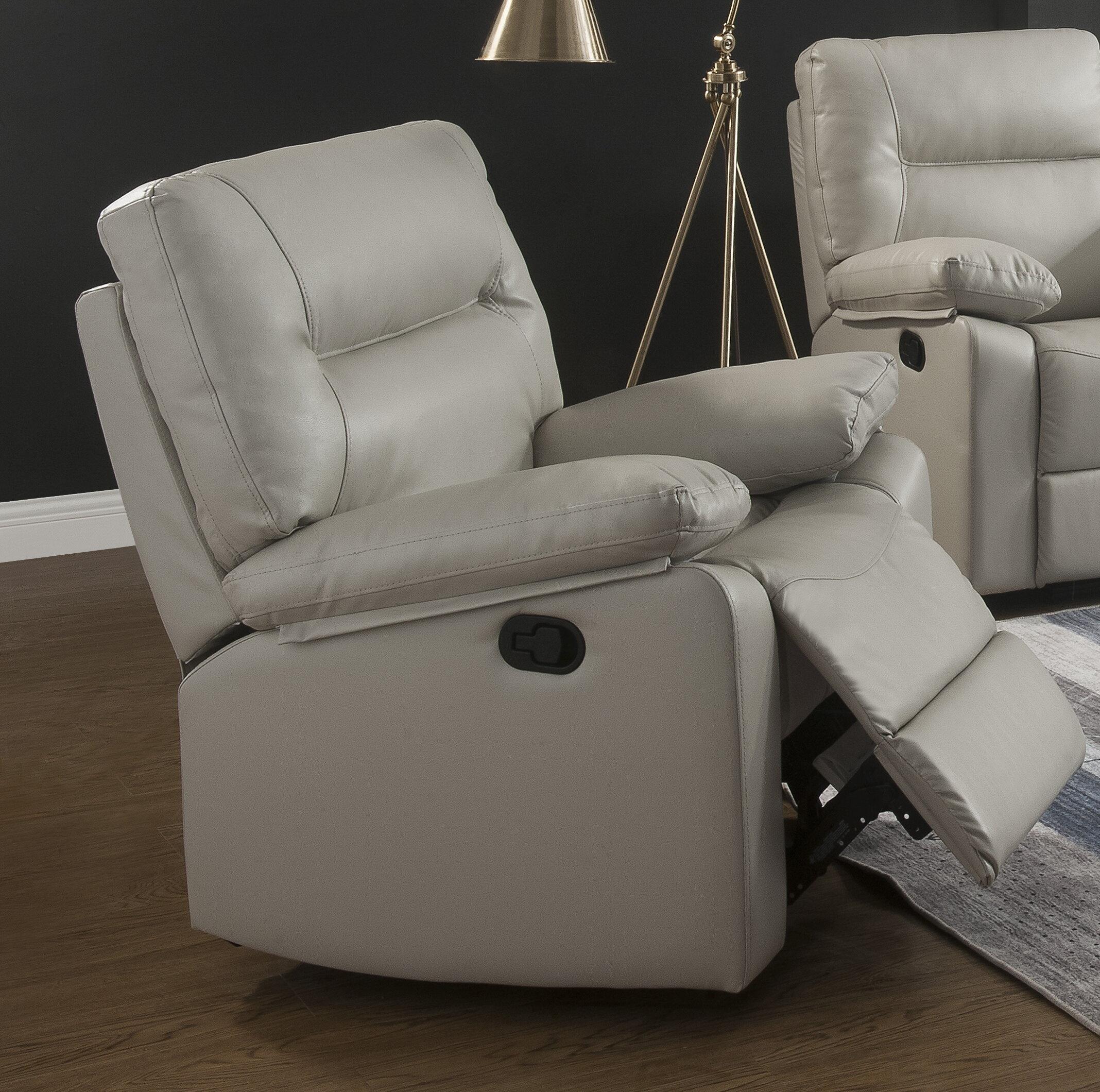 Marvelous Larrabee Manual Rocker Recliner Machost Co Dining Chair Design Ideas Machostcouk