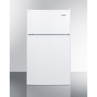 Summit ADA Compliant 2-Door 18.5-inch 3 cu.ft. Undercounter Refrigerator with Freezer