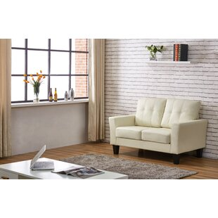 Low priced Althea Tufted Loveseat By Winston Porter