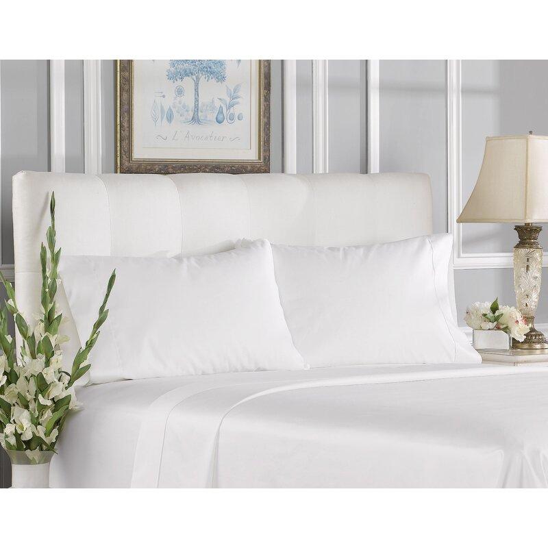 Aspire Linens 400 Thread Count 100 Cotton Sheet Set Wayfair