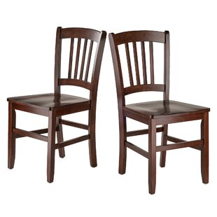 Best Review Crossfell Solid Wood Dining Chair (Set of 2) by Red Barrel Studio Reviews (2019) & Buyer's Guide