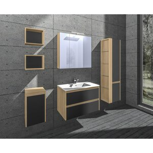 Norah 7 Piece Bathroom Furniture Set von Belfry ..