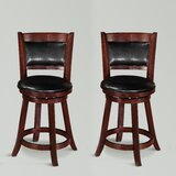 Parkmont Swivel Bar & Counter Stool (Set of 2) by Winston Porter