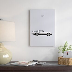 '1984 Nissan 300ZX Turbo' Graphic Art Print on Canvas ByEast Urban Home