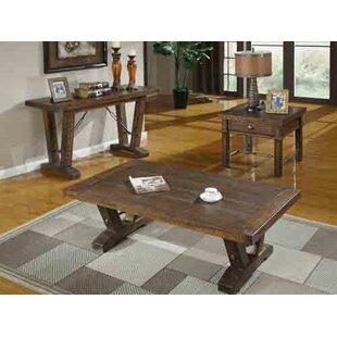 Loon Peak Diez 3 Piece Coffee Table Set