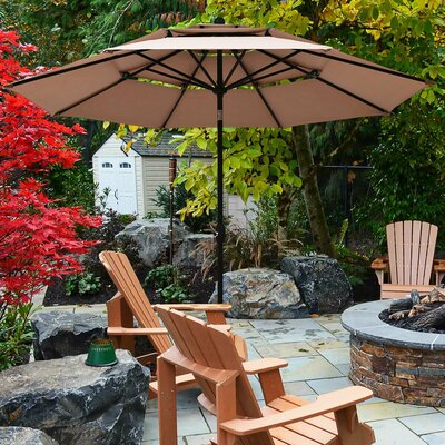 Anzalone 10 Beach Umbrella by Freeport Park Discount
