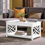 Lund Coffee Table with Storage by Rosalind Wheeler