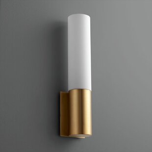 Cubic 1-Light LED Armed Sconce..