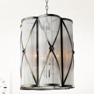 Diana 4-Light Cylinder Pendant by CWI Lighting