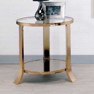 Marion Contemporary End Table by Rosdorf Park