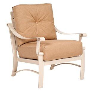 Salona Love Seat with Cushions By Woodard