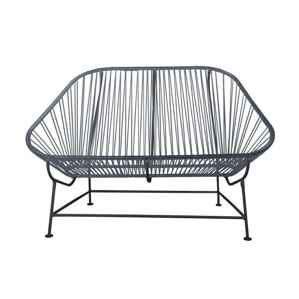 Incredible Grand Patio Deluxe Wicker Outdoor Bench Weatherproof Garden Pabps2019 Chair Design Images Pabps2019Com