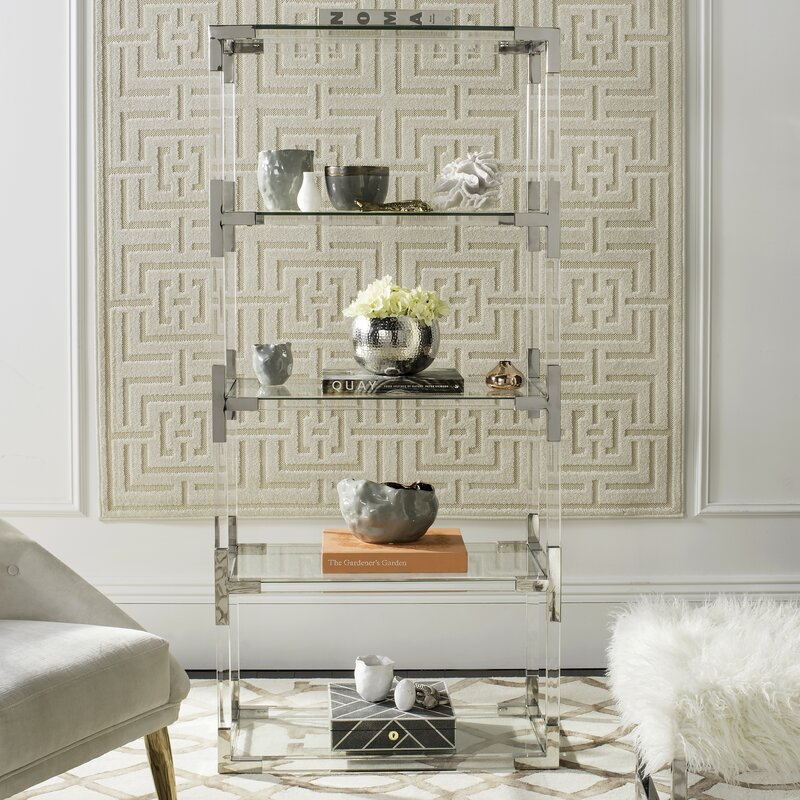 Willa Arlo Interiors Mariaella Etagere Bookcase | Wayfair