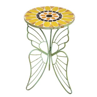 Verdi Butterfly Side Table by Evergreen Enterprises, Inc Great price