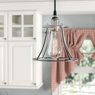 Laurel Foundry Modern Farmhouse Sandy Springs 1-Light Caged Mini Pendant