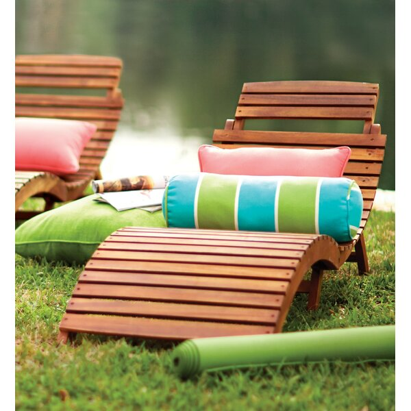 Beachcrest Home Tifany Wood Outdoor Chaise Lounge & Reviews by Beachcrest Home