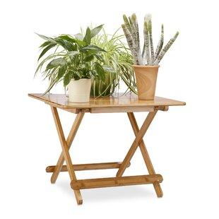 Papillion Bamboo Folding Side Table Image