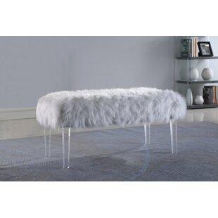Mongolian Fur Bench | Wayfair