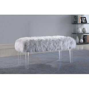 Look for Lowall Fur Bench By Greyleigh